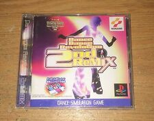 Dance Dance Revolution 2nd Remix Playstation 1 Game Complete Japan Import Games