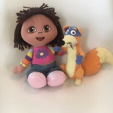 dora the explorer & Swiper Plush Soft Toy Set Fisher Price TY Beanie Children TV