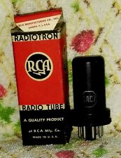 NOS  6AC7 vacuum tube radio TV valves, TESTED