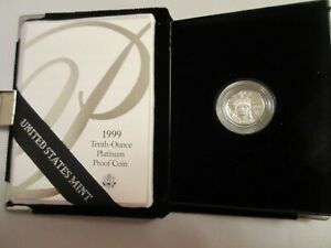 1999-W Tenth-Ounce Platinum Proof Coin