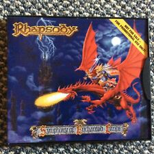 Rhapsody, Symphony of Enchanted Lands, Promo-CD Snap case, 1998, M/NM