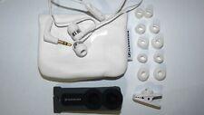 Sennheiser CX 400-II Precision Bass-Driven Canal Earbuds Earphones White