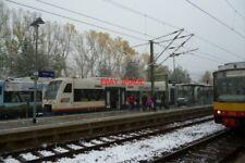 PHOTO  2012 GERMANY RAILWAY FREUDENSTADT HBF OSB DIESEL RAILCAR
