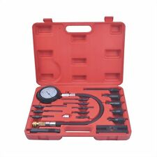 Brand New 17Pc Diesel Engine Cylinder Compression Test Tester Kit & Gauge
