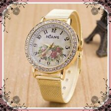 Unbranded Women's Stainless Steel Strap Casual Wristwatches