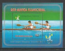 Jeux Olympiques d' été Guinée Equatoriale (1) bloc oblitéré