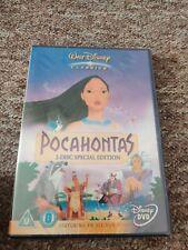 Pocahontas - RARE Disney 2-Disc DVD Special Edition SEALED - Region 2 UK Seller