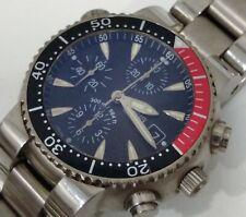 Oris Divers Titan Chronograph 44mm men's watch coke bezel