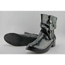 Flat (0 to 1/2 in.) Narrow (AA, N) Synthetic Boots for Women