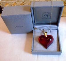PENDANT  LALIQUE 9ct  YELLOW  GOLD CHAIN / SUPBER GIFT/INVESTMENT