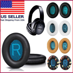 2x Replacement Ear Pads Cushion For Bose QuietComfort 15 / 2 /25 QC25 Headphones