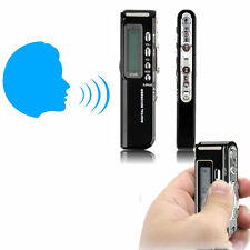 8GB 650Hr USB LCD Screen Digital Audio Voice Recorder Dictaphone MP3 Player ST