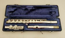 Armstrong Flute 104 Silver Plated Elkhart