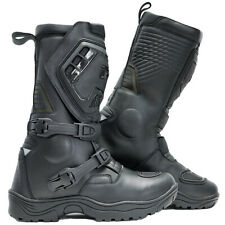 Richa Colt ADVENTURE Black Motorcycle Boots WITH DOUBLE ADJUSTMENT PQ