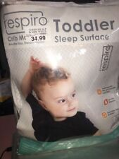Respiro Infant Baby Crib Mattress Sleep Surface Warm White 0-1 Year 30lbs