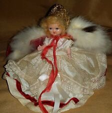 Vintage Hollywood Doll Queen For A Day Jointed Blonde Doll With Box 1950's