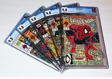 "Spider-Man #1 - #5. ""Torment""  CGC 9.8.  Complete 5 part storyline. Scarce!"