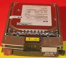 HP 300GB 15K RPM SCSI U320 Hard Drive 443188-003 404670-014 BF30084971 5xAvail