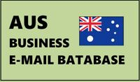 Australia Business Email database, Australia B2B emails, Australian consumers