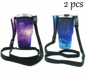 Gorgeous Shoulder Mug Bag Sleeve For 30 oz Yeti Ozark RTIC SIC Ramblers Tumbler