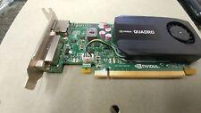 Dell F86YK Nvidia Quadro K600 1GB PCI Express DVI Displayport Video Card  LP LOW