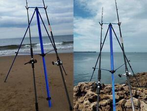 Shakespear Salt Beach Tripod For 2 Rods Reels
