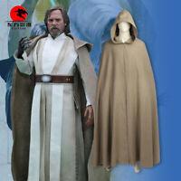 DFYM Luke Skywalker Cosplay Cloak Star Wars The Last Jedi Cosplay Cape Ponchos