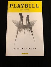 M. Butterfly November 2017 Broadway Playbill