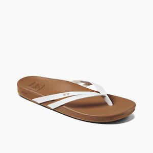 Reef Women's Cushion Spring Joy Flip Flop Sandals - Cloud White New w/ Tags