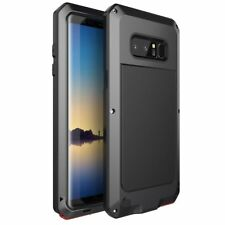 Shockproof Waterproof Aluminum Metal Armor Case Cover For Samsung Note 8 S8 Plus