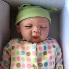Paradise Galleries Sleepy Frog Baby Doll