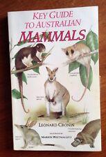 Key Guide to Australian Mammals by Leonard Cronin 1991 Pb Book Illus 1st Ed.
