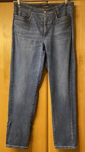 ⚜⚜blaue Cambio Jeans Hose Pearlie Stretch Gr 44  L32 • Mittelblau - Top  ⚜⚜