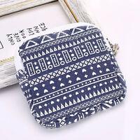 Women Girl Cute Sanitary Napkin Towel Bag Case Pad Portable Organizer Holder New