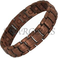MENS MAGNETIC BRACELET EXTRA STRENGTH PREMIUM PAIN RELIEF BANGLE FOR ARTHRITIS