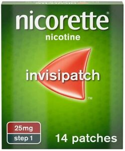 Nicorette Step 1 14 patches next day delivery  @14.95£ Long Expiry Date