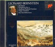 Leonard Bernstein(CD Album)Symphony, No. 4/ Academic Festival Overture-New