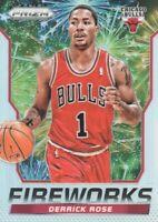 2014-15 Panini Prizm Fireworks #13 Derrick Rose Chicago Bulls