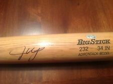 JUSTIN UPTON  AUTOGRAPHED RAWLINGS BIG STICK!! MLB CERTIFIED