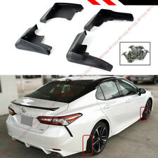 FOR 18-2020 TOYOTA CAMRY SE XSE SPORT 4 PCS FRONT & REAR SPLASH GUARD MUD FLAP
