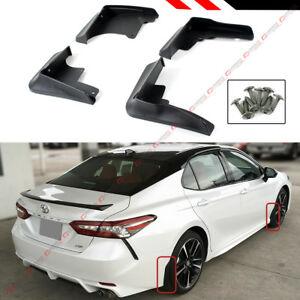 FOR 18-2021 TOYOTA CAMRY SE XSE SPORT 4 PCS FRONT & REAR SPLASH GUARD MUD FLAP