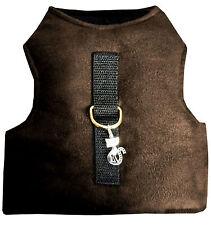 Katzengeschirr Walking Jacket Harness Vest Softgeschirr Katze Größe L braun