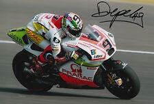 Danilo Petrucci Hand Signed Pramac Ducati 12x8 Photo 2015 MotoGP 5.