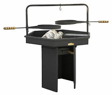 LARGE Outdoor Garden Fire Pit PROF Grill Barbecue made of 2mm Steel Patio Heater