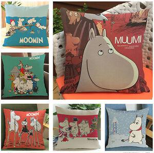 **FINAL STOCK** Moomin Family Cushion Covers, 45cm x 45cm, UK Seller, BNWT