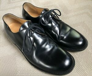 Marc Jacobs Men's Black Leather Dress Shoes Made in Italy Size 40.5