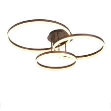 Modern LED Lamps 90W Rings Chandeliers Ceiling Lights Living Room Bedroom Lights