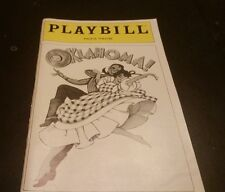 Oklahoma! Playbill - Palace Theatre - January 1980 - Laurence Guittard