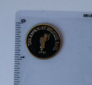 The Links at Spanish Bay - Pebble Beach, CA official golf ball marker Golf Coin