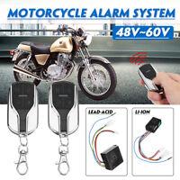 48V~60V Anti-theft Alarm System 2 Remote Control For